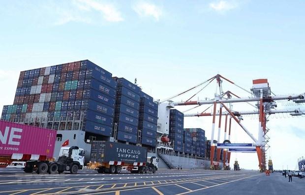Les ports maritimes manutentionnent plus de 397 M de tonnes en 7 mois hinh anh 1