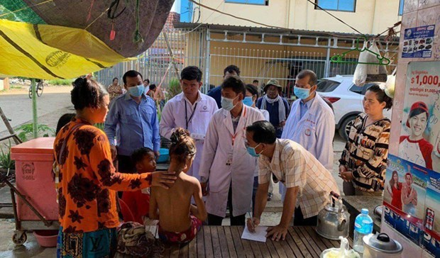 Une maladie mysterieuse frappe la ville cambodgienne de Poipet hinh anh 1