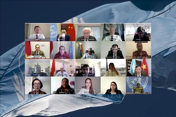 Le Conseil de securite de l'ONU discute de la situation a Chypre hinh anh 1