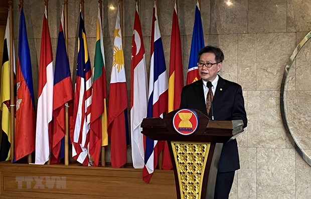 Le Vietnam contribue activement au processus d'integration et d'edification de l'ASEAN hinh anh 1