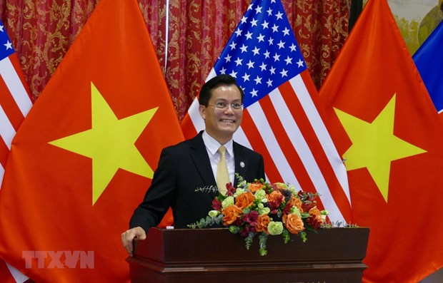 Celebration du 25e anniversaire de l'etablissement des relations Vietnam-Etats-Unis a Washington D.C hinh anh 1