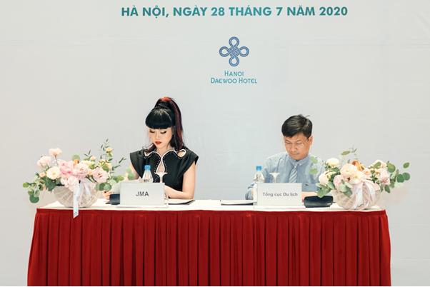 Un mannequin international participe a promouvoir le tourisme vietnamien hinh anh 1