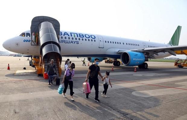 Sept mois : Bamboo Airways arrive en tete avec un taux de ponctualite hinh anh 1