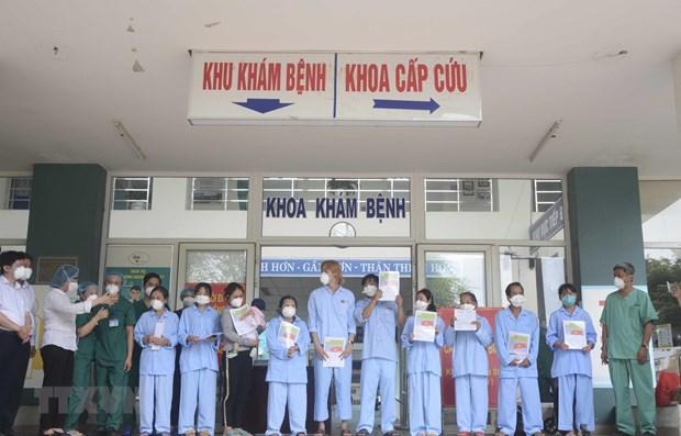 COVID-19 : 12 nouveaux patients gueris a Quang Ngai et a Da Nang hinh anh 1
