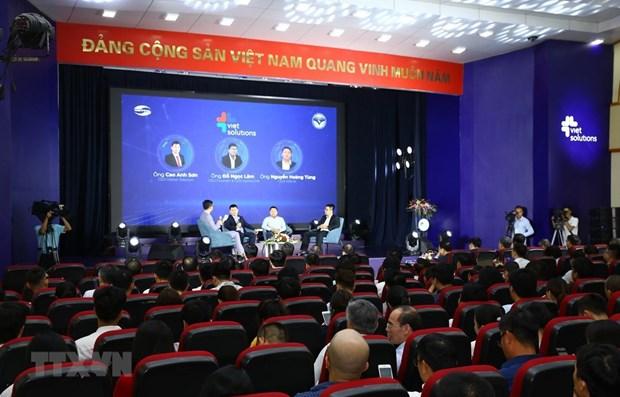 Plus de 200 dossiers d'inscription au concours Viet Solutions 2020 hinh anh 1