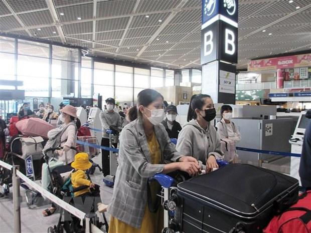 Rapatriement de 350 citoyens vietnamiens du Japon hinh anh 1
