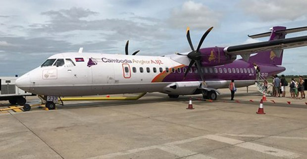 Cambodia Angkor Air annonce la reprise de ses vols a partir du 15 septembre hinh anh 1