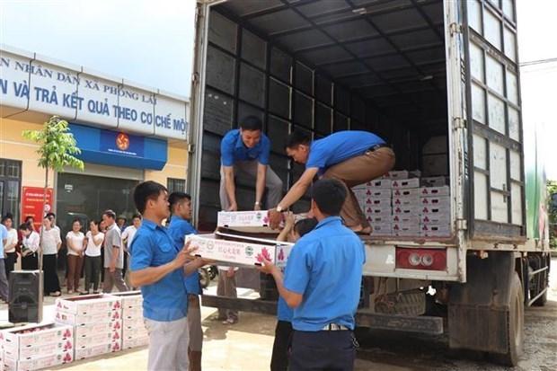 Exportation du premier lot de fruits vers l'UE dans le cadre de l'EVFTA hinh anh 1
