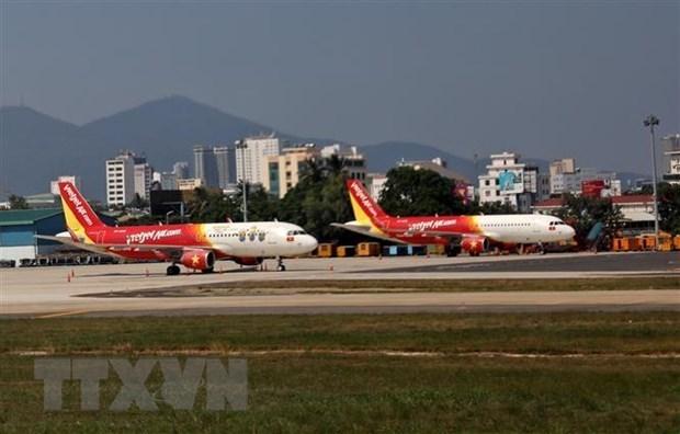 Trois aeroports au Centre suspendent leurs operations en raison de la tempete Noul hinh anh 1