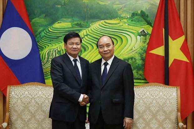 Typhon Noul: message de sympathie du Laos hinh anh 1