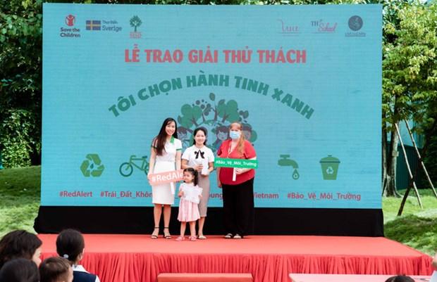 Renforcement de la participation des jeunes vietnamiens dans la protection de l'environnement hinh anh 1