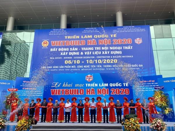 Ouverture de l'exposition internationale Vietbuild 2020 a Hanoi hinh anh 1