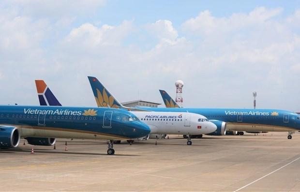 Deux aeroports au Centre suspendent leurs operations en raison de la tempete Nangka hinh anh 1