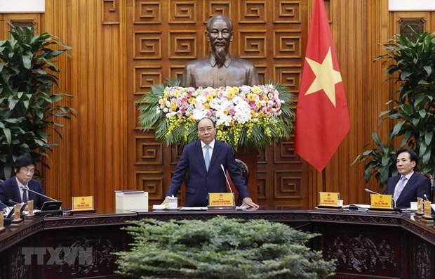 Le Premier ministre travaille avec l'Association d'amenagement et de developpement urbains hinh anh 1