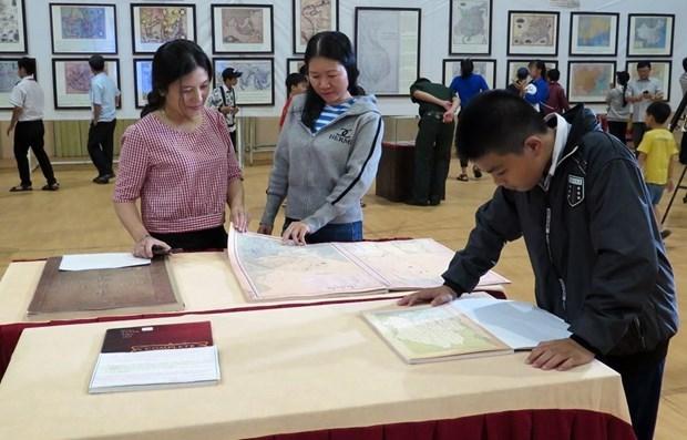 Exposition sur les archipels de Hoang Sa et Truong Sa a Da Nang hinh anh 1