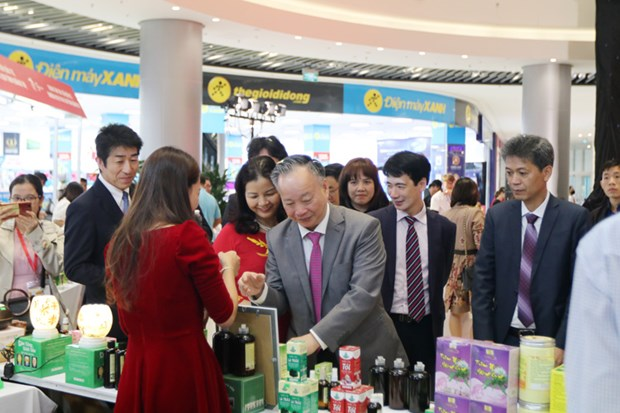 Promotion des produits agricoles dans le reseau de supermarches AEON hinh anh 2