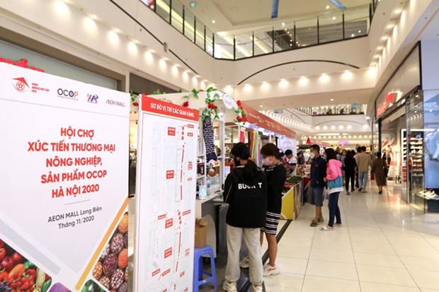 Promotion des produits agricoles dans le reseau de supermarches AEON hinh anh 3