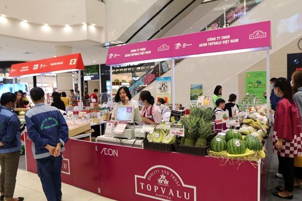 Promotion des produits agricoles dans le reseau de supermarches AEON hinh anh 4