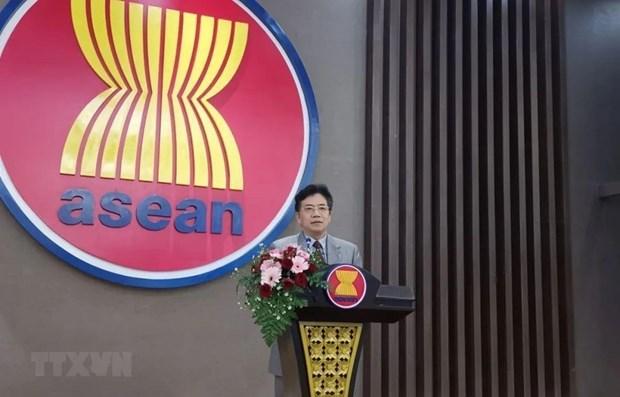 L'ambassadeur chinois apprecie la cooperation avec l'ASEAN hinh anh 1