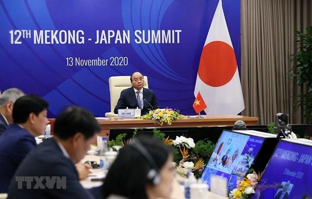 Ouverture du 12e Sommet Mekong-Japon hinh anh 1