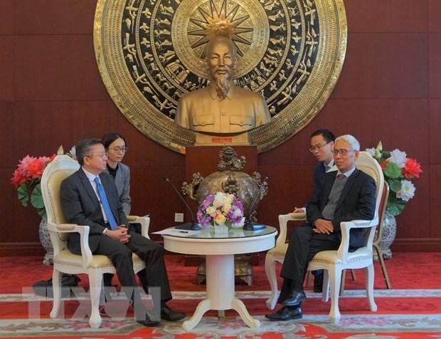 Renforcement de la cooperation economique entre les localites vietnamiennes et chinoises hinh anh 1