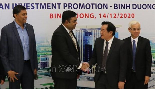 Binh Duong cherche a attirer davantage d'investissements indiens hinh anh 1