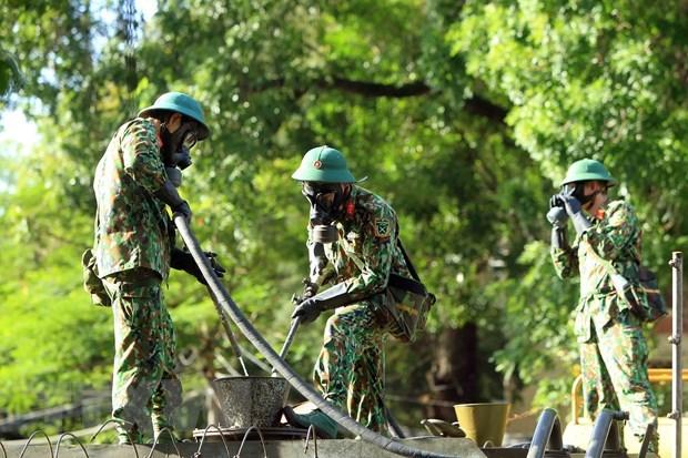 Renforcer les affaires exterieures de defense en temps de paix pour proteger la Patrie hinh anh 2