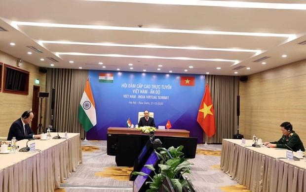 Vision commune Vietnam-Inde pour la paix, la prosperite et les peuples hinh anh 1