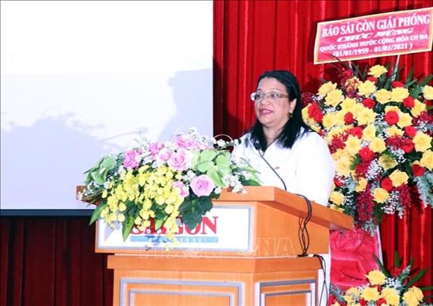 La Fete nationale de Cuba celebree a Ho Chi Minh-Ville hinh anh 1