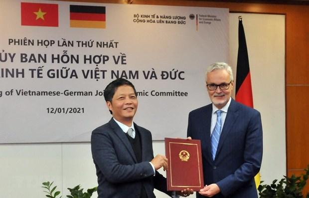 EVFTA - moteur important du renforcement des relations commerciales Allemagne-Vietnam hinh anh 1