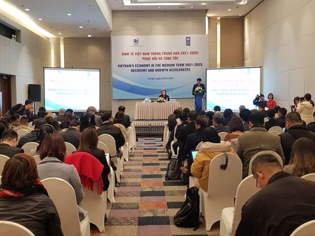 Previsions economiques du Vietnam pour la periode 2021-2025 hinh anh 1