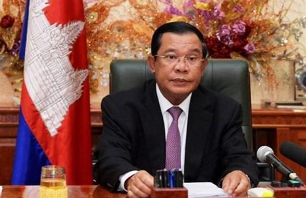 Le president du Parti du peuple cambodgien apprecie le role de leadership du PCV hinh anh 1