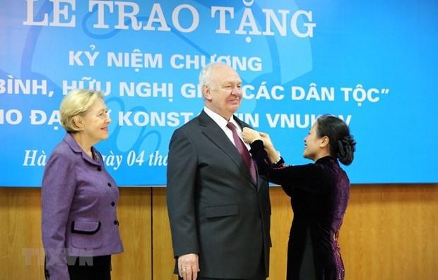 La Russie prend en haute consideration le partenariat strategique avec le Vietnam hinh anh 2
