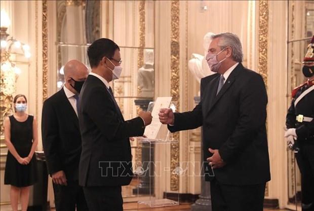 Vietnam es un socio importante de Argentina en Asia-Pacífico hinh anh 1