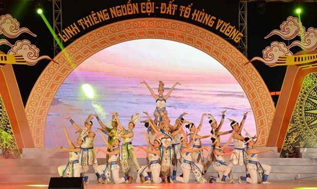 Phu Tho : programme artistique en commemoration des rois Hung hinh anh 1