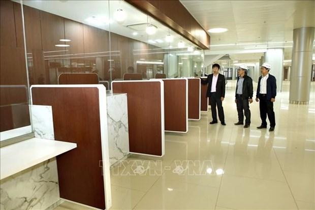 COVID-19: Ha Nam applique la distanciation sociale dans la commune de Dao Ly hinh anh 2