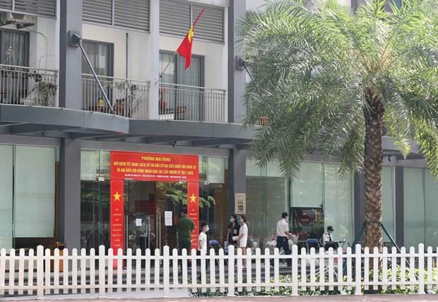 Hanoi enregistre un nouveau cas de COVID-19 dans la zone urbaine Times City hinh anh 1