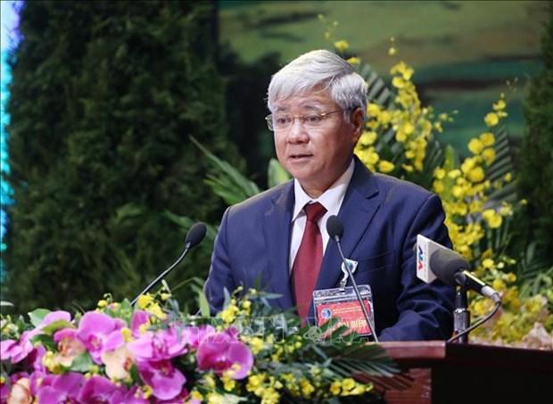 Le chef du FPV formule les vœux pour le 2565e anniversaire de Bouddha hinh anh 2
