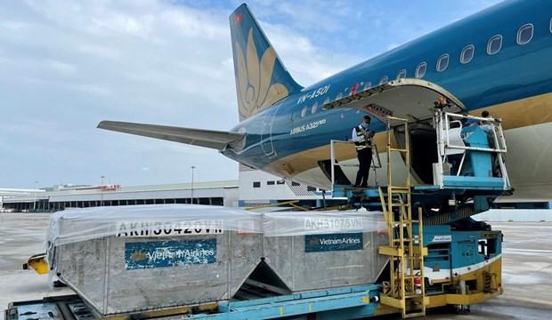 COVID-19: Vietnam Airlines acheve le transport du vaccin AstraZeneca aux villes et provinces hinh anh 1