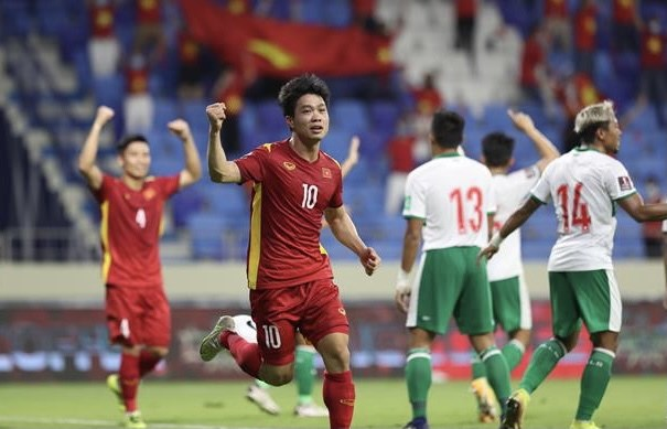 Eliminatoires de la Coupe du monde : le Vietnam remporte une nette victoire sur l'Indonesie hinh anh 1
