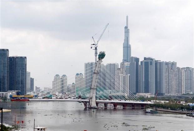 Ho Chi Minh-Ville: plusieurs ouvrages de transport importants devraient s'achever en 2021 hinh anh 1