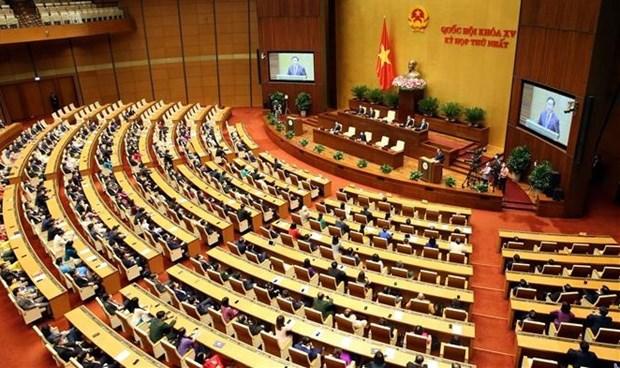 Communique de presse sur les resultats de la premiere session de la 15e legislature de l'AN hinh anh 1