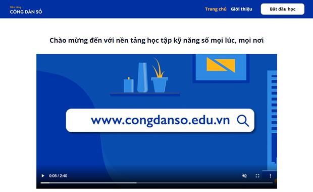 Lancement d'une plateforme d'apprentissage en ligne ouverte a tous (OK-5/9) hinh anh 1