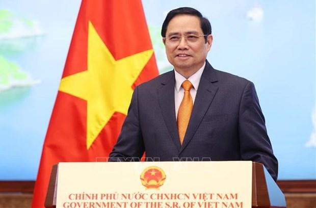 Le PM Pham Minh Chinh participera au 7e Sommet de la sous-region du Mekong elargie hinh anh 1