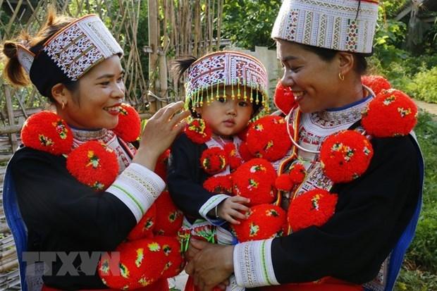 La tenue traditionnelle de l'ethnie Dao Do obtient une distinction hinh anh 1