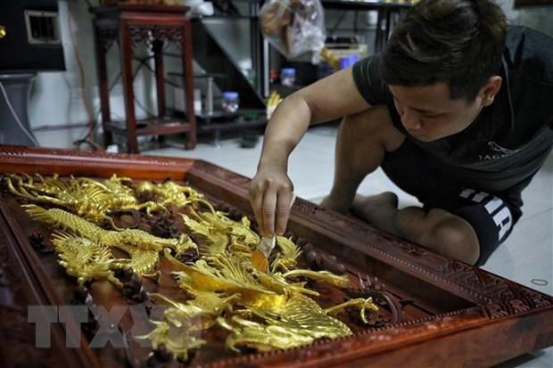 Les villages artisanaux de Hanoi reprennent leur production hinh anh 2
