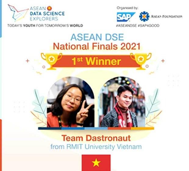 L'Universite RMIT representera le Vietnam a la finale du concours de l'ASEAN DSE hinh anh 2
