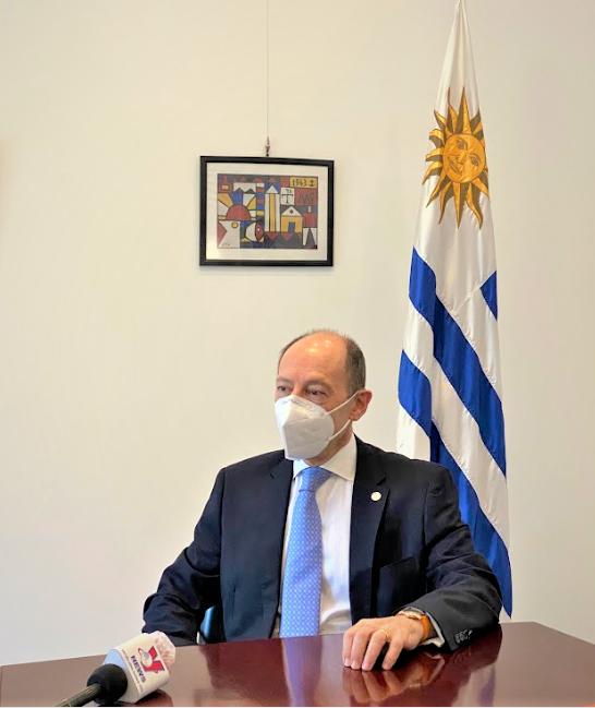 L'ambassadeur de l'Uruguay souhaite promouvoir l'accord de libre-echange avec le Vietnam hinh anh 1