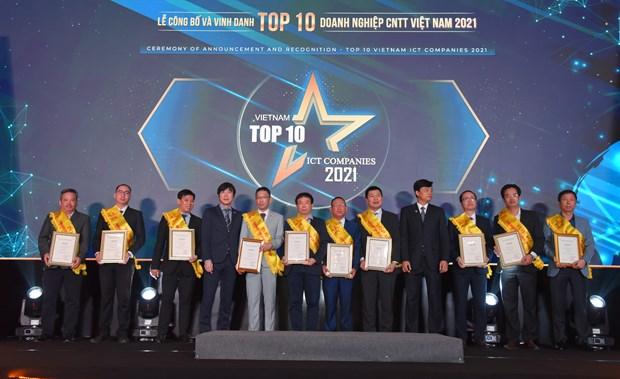 Les dix meilleures entreprises informatiques du Vietnam : FPT remporte de nombreux prix hinh anh 2
