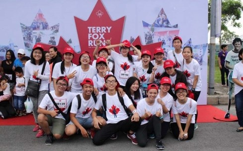 Plus de 24.800 participants aux courses Terry Fox et Kizuna Ekiden hinh anh 1
